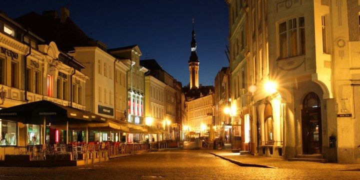Old Town of Tallinn, Most beautiful cities and towns in Estonia