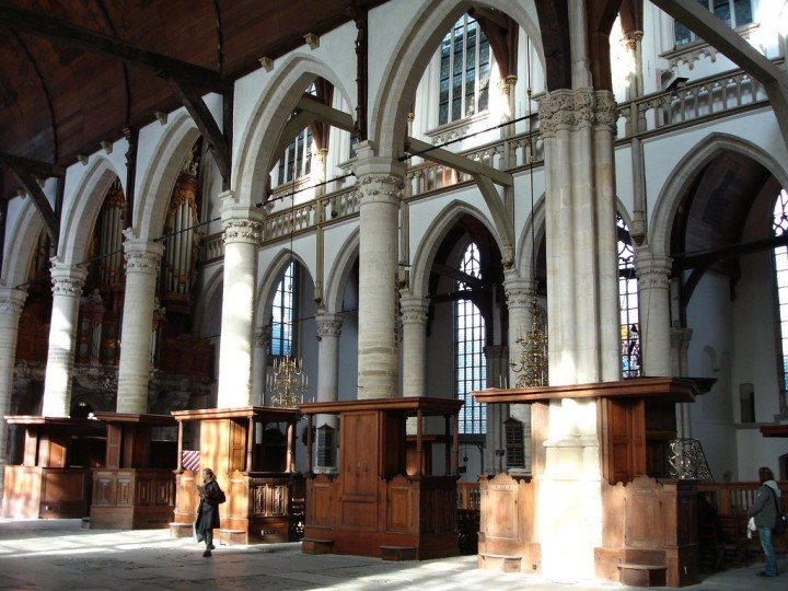 Oude Kerk - church, Things to do in Amsterdam, Netherlands