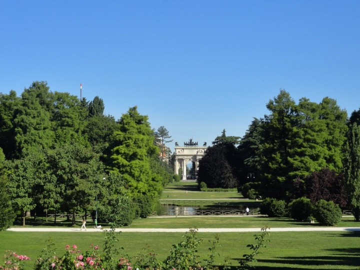Parco Sempione with Arco della Pace, Things to do in Milan, Lombardy, Italy