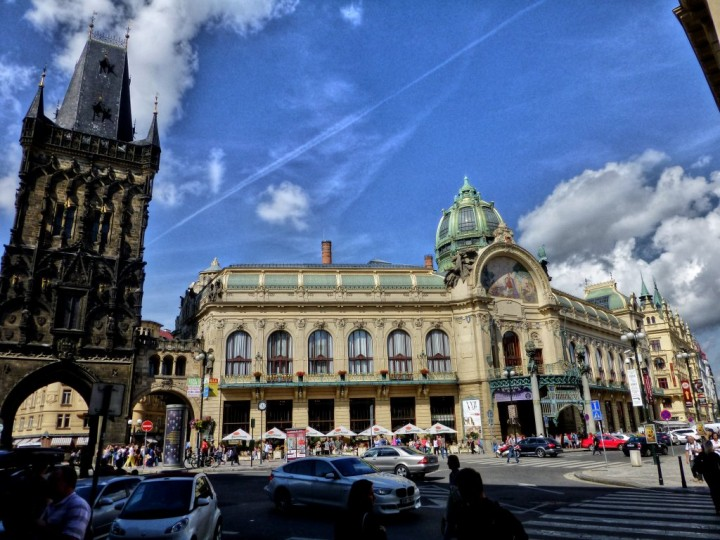 Powder tower and municipal house, Things to do in Prague, The Czech Republic