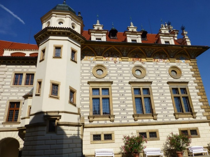 Průhonice Castle facade, The Czech Republic