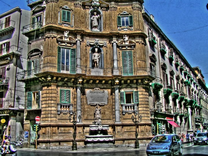Quatro Canti square, Things to do in Palermo, Sicily, Italy