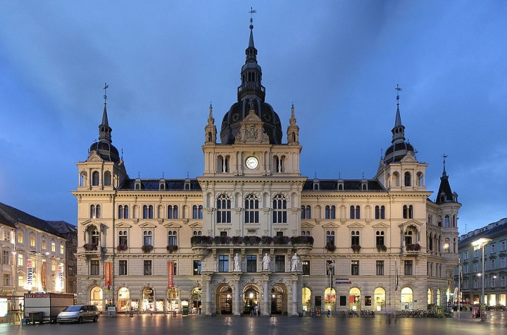 Rathaus (City Hall) in Graz, Austria