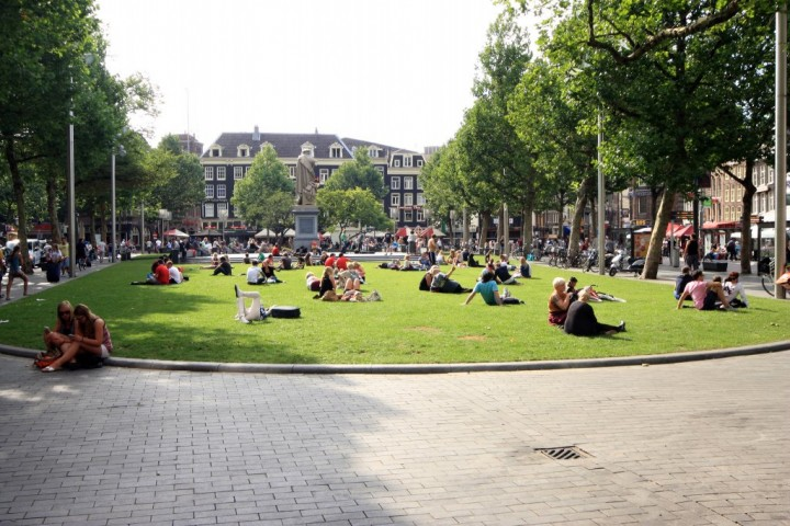 Rembrandt Square, Things to do in Amsterdam, Netherlands
