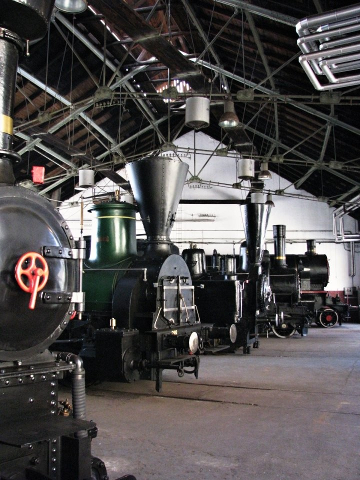 Slovenian Railway Museum, What to see in Ljubljana