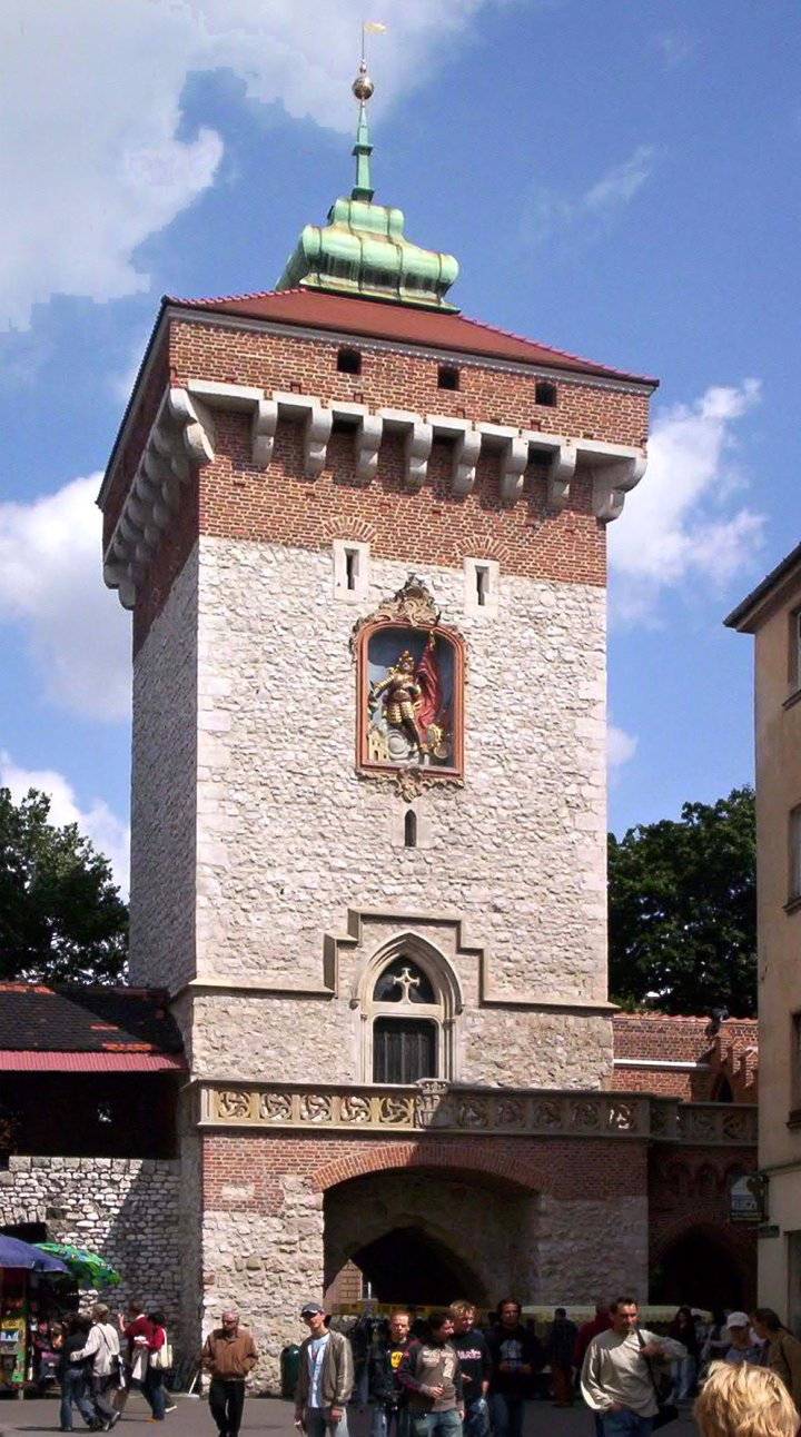 St. Florian's Gate, Things to do in Krakow, Poland