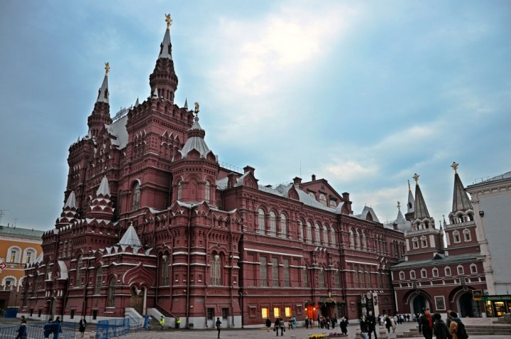 The State Historical Museum, Red Square, Most beautiful places in Moscow, Russia