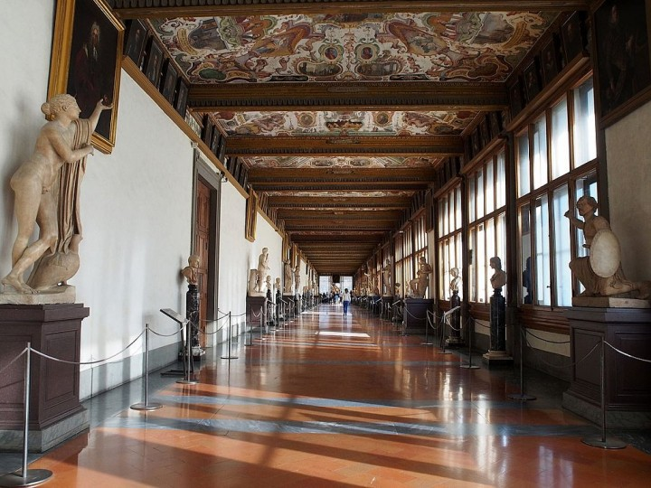 Uffizi Gallery in Florence, Things to do in Florence, Italy