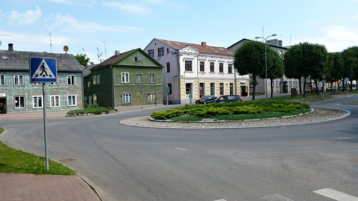Valga city center, Most beautiful cities and towns in Estonia