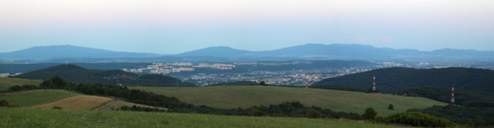 A view of Kosice from Hresna cottage, Visit Kosice, Slovakia
