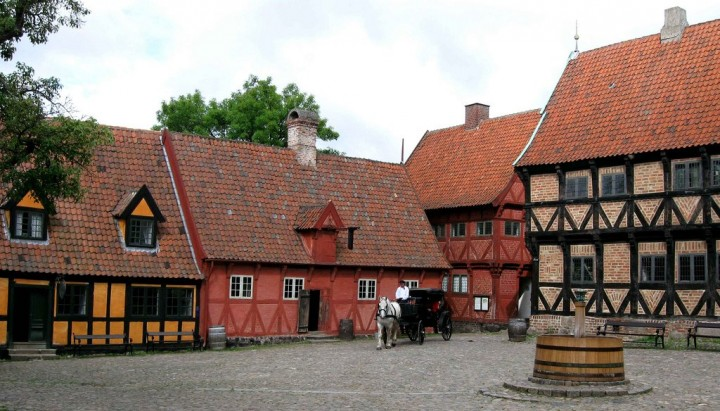 Århus, beautiful cities and towns in Denmark