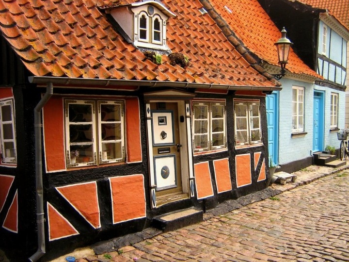 Ærøskøbing, beautiful cities and towns in Denmark