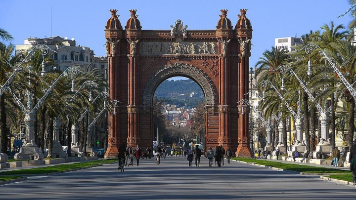 Arc de Triomf, Things to do in Barcelona, Spain