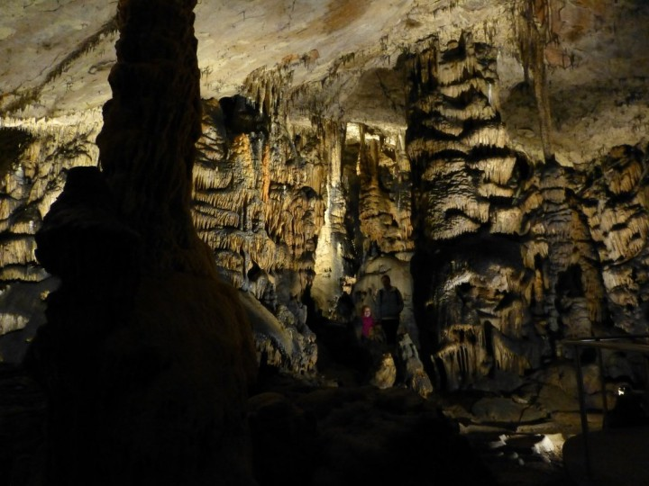 Columns of Baradla Cave, Aggtelek National Park, Hungary