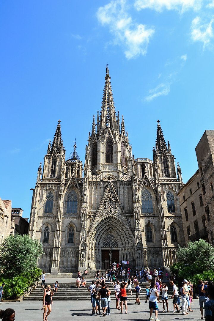 Cathedral of the Holy Cross and Saint Eulalia, Barcelona, Spain