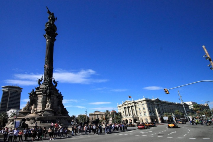Columbus Monument, Things to do in Barcelona, Spain
