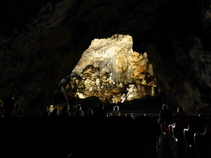Concert hall in Baradla Cave, Aggtelek National Park, Hungary