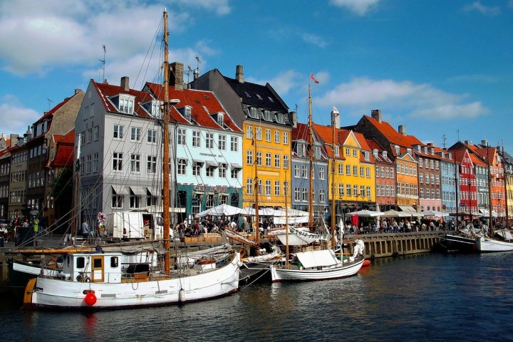 Copenhagen, beautiful cities and towns in Denmark