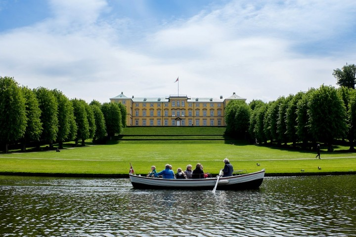 Frederiksberg Palace and Gardens, beautiful cities and towns in Denmark