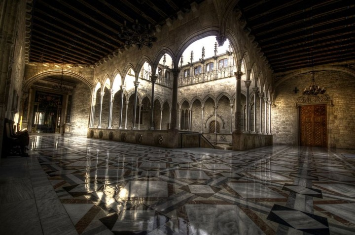 Gothic Gallery in Palau de la Generalitat, Things to do in Barcelona, Spain