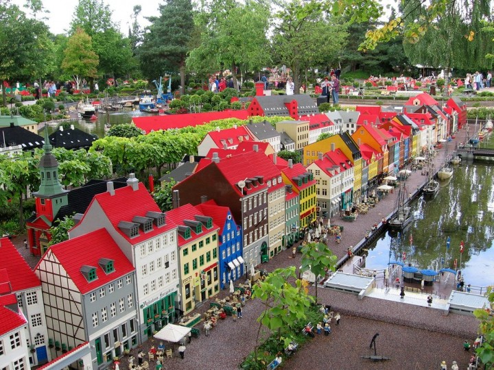 Legoland Billund, beautiful cities and towns in Denmark