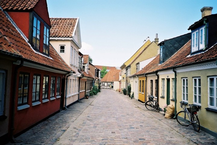 Odense, beautiful cities and towns in Denmark