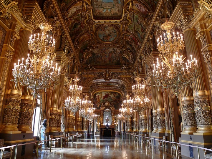 Opéra Garnier - Grand Foyer, Paris, France