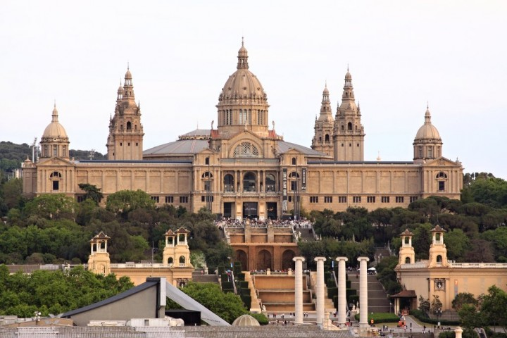 Palau Nacional, Montjuic, Things to do in Barcelona, Spain