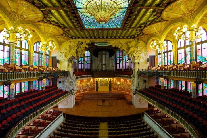Palau de la Música Catalana, Things to do in Barcelona, Spain