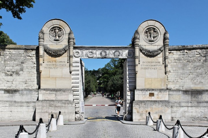 Père Lachaise Cemetery main entrance, Things to do in Paris, France