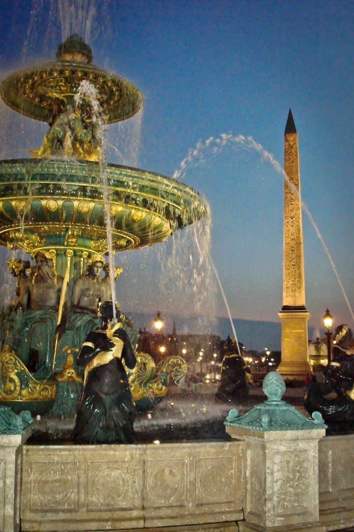 Place de La Concorde fountain and obelisk, Things to do in Paris, France