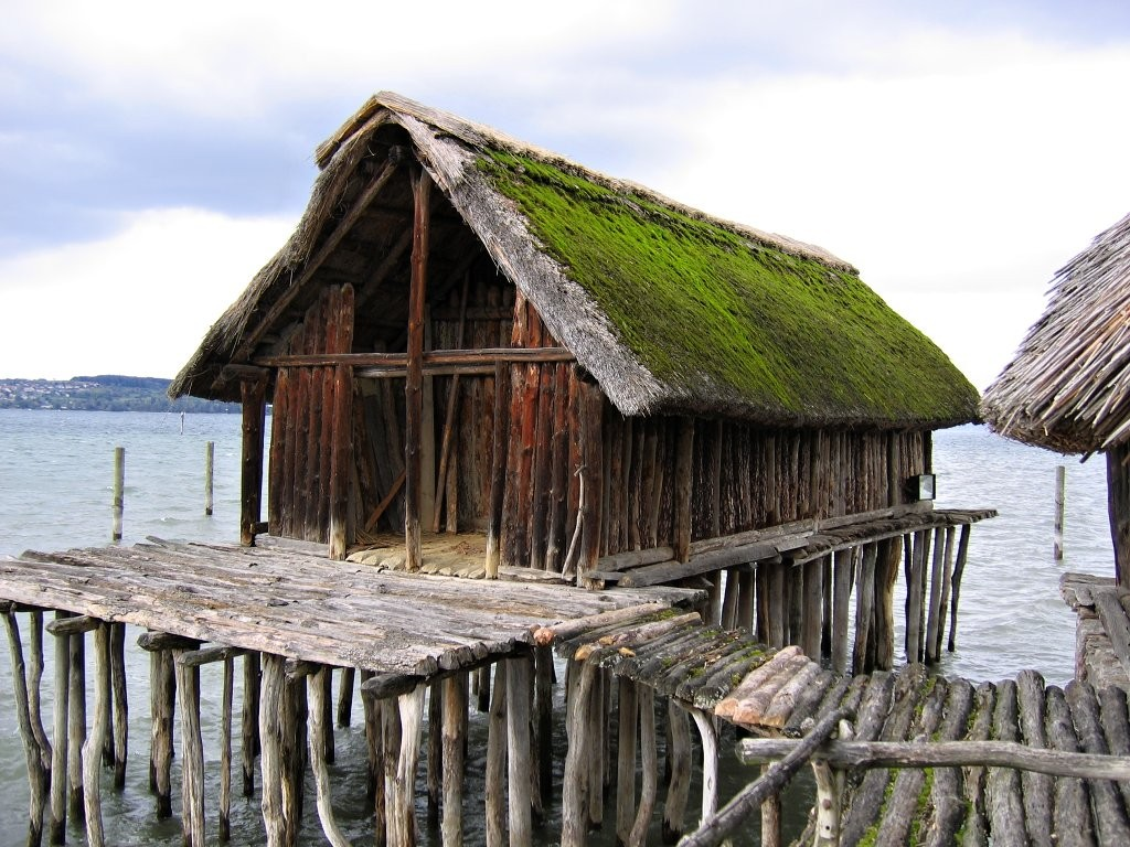 Reconstruction of a pile house, UNESCO World Cultural Heritage Site, Things to do in Austria