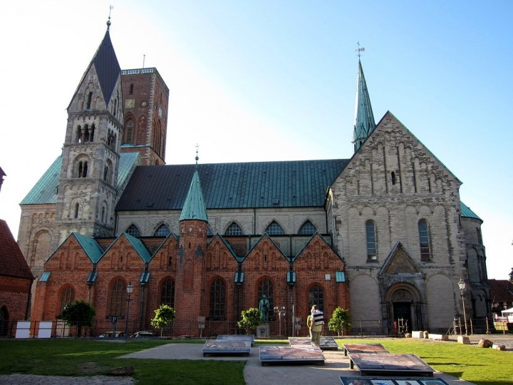 Ribe Cathedral, beautiful cities and towns in Denmark