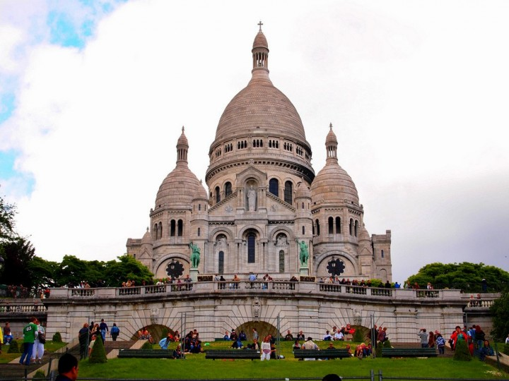 Sacre Coeur Basilica, Montmartre, Things to do in Paris, France