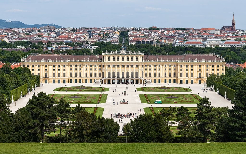 Schönbrunn Palace and gardens in Vienna, UNESCO World Cultural Heritage Site, Things to do in Austria