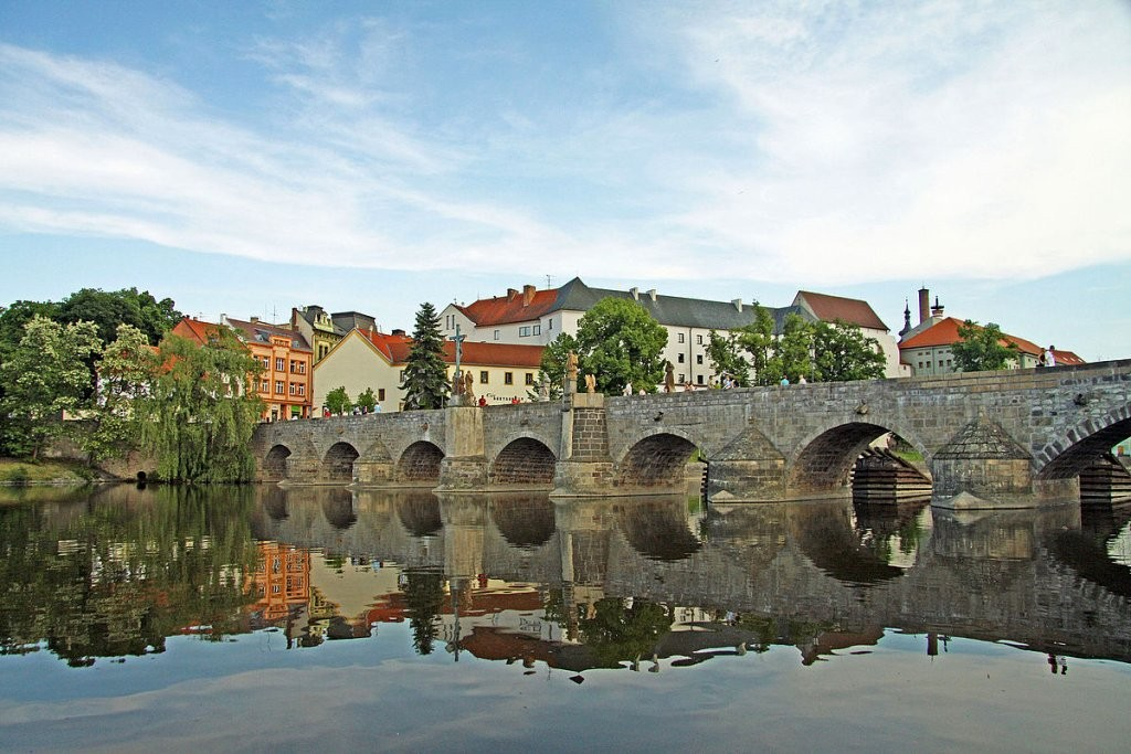 Stone Bridge in Písek, The Czech Republic