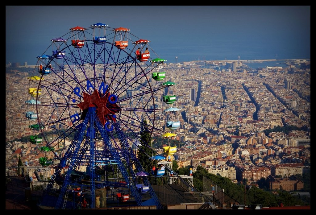 Tibidabo Amusement Park, Things to do in Barcelona, Spain