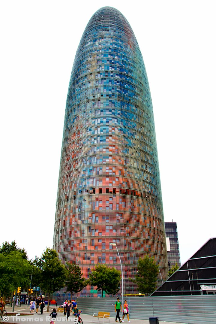 Torre Agbar, Things to do in Barcelona, Spain