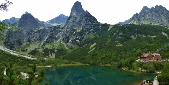 Zelene pleso glacial lake, High Tatras National Park, Slovakia