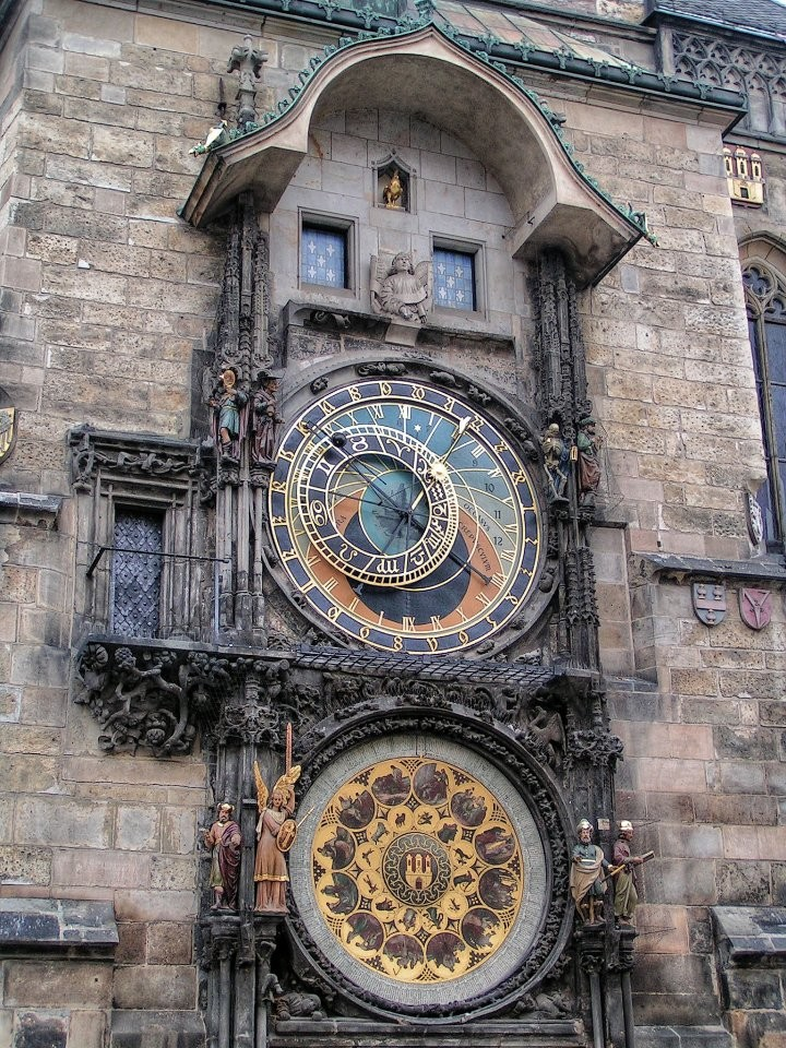Astronomical Clock, Orloj, Prague, The Czech Republic
