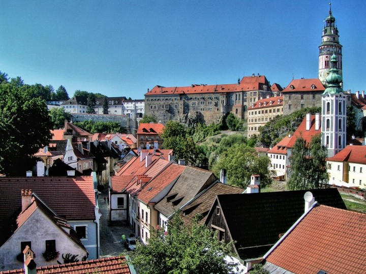 Cesky Krumlov Town and Castle, Châteaux and Castles in the Czech Republic