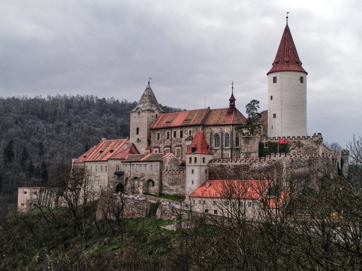 Křivoklát Castle, Châteaux and Castles in the Czech Republic