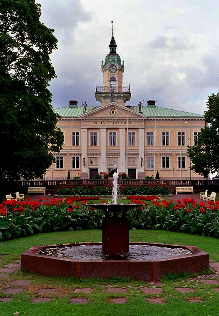 old Town Hall of Pori, Finland - Tourist attractions in Finland