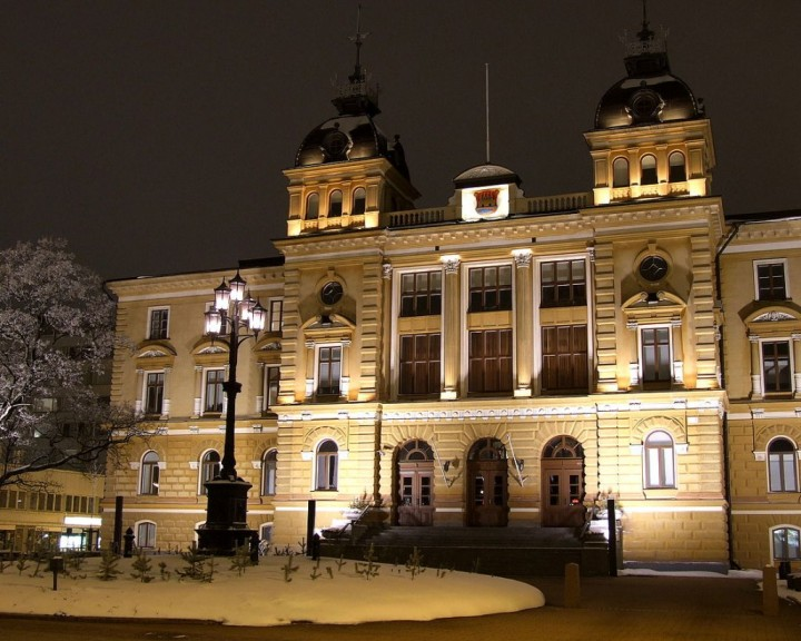 Oulu City Hall, Finland - Tourist attractions in Finland