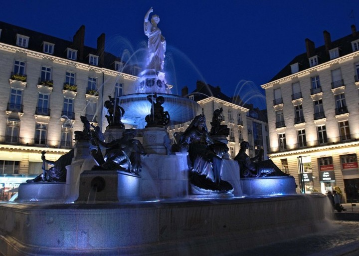 Place Royale Nantes, Places to visit in France