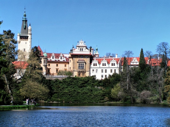 Průhonice Chateau, Châteaux and Castles in the Czech Republic