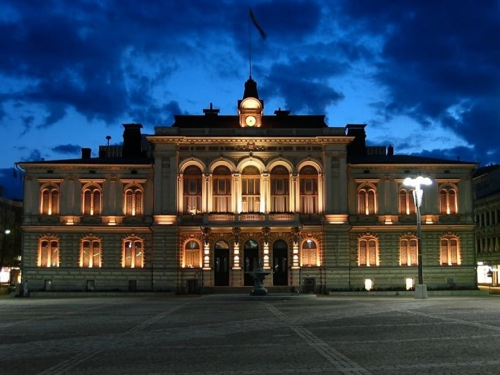 Tampere Townhall, Finland - Tourist attractions in Finland