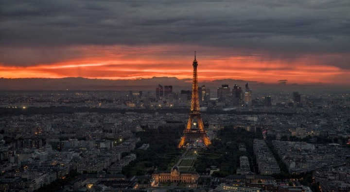 Sunset in Paris, Places to visit in France
