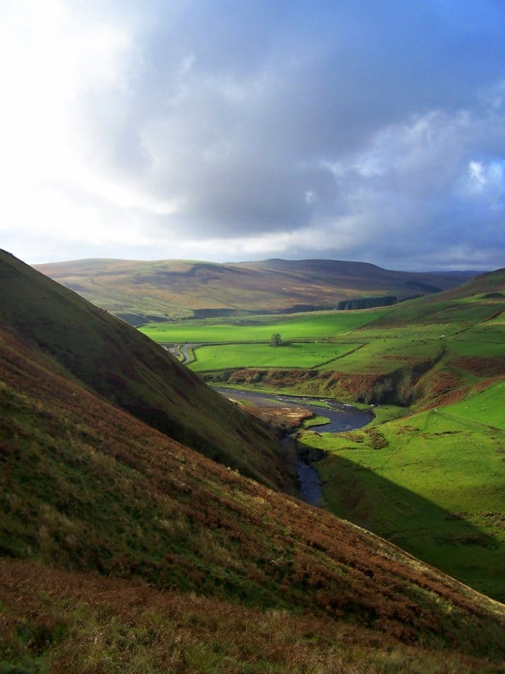Alwinton, Northumberland National Park, England, National Parks in the UK