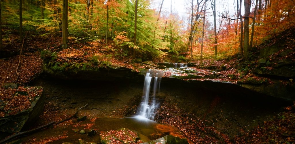 Blue Hen Falls, Cuyahoga Valley National Park, US National Parks